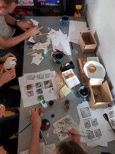 Planera, bygga, och måla